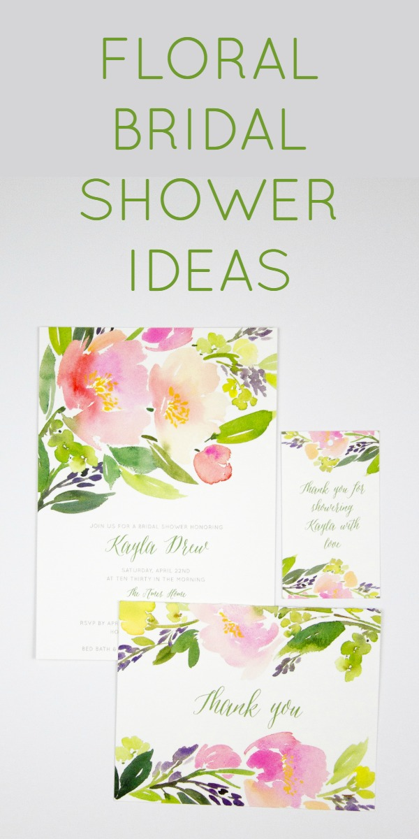 DIY ideas for a floral garden themed bridal shower