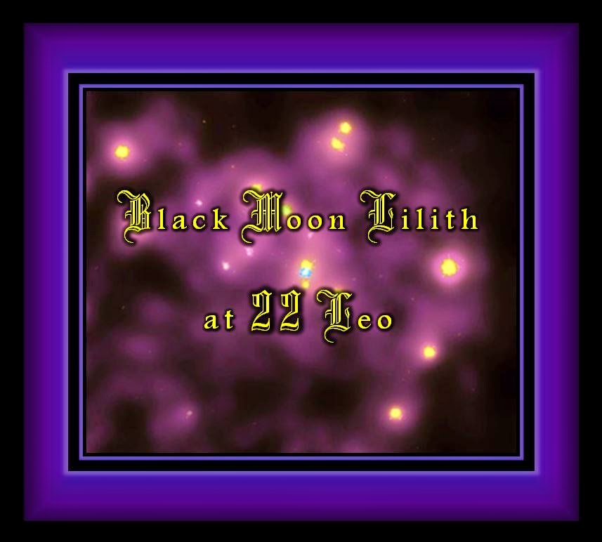 astroPPM: Black Moon Lilith at 22 Leo
