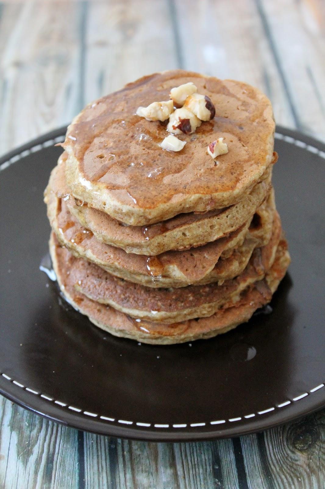 Recette Pancake Banane Flocon D Avoine : recette, pancake, banane, flocon, avoine, Pancakes, Santé, {Pomme,, Banane,, Flocons, D'avoine}