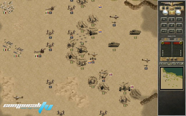 Panzer Corps Afrika Korps PC Full Fairlight Descargar 2012