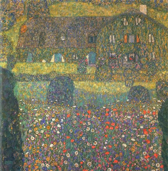 Klimt Forsthaus in Weissenbach I 1914