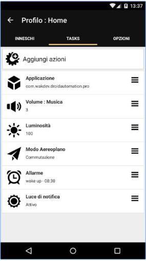 profili personalizzati e automatizzati su android