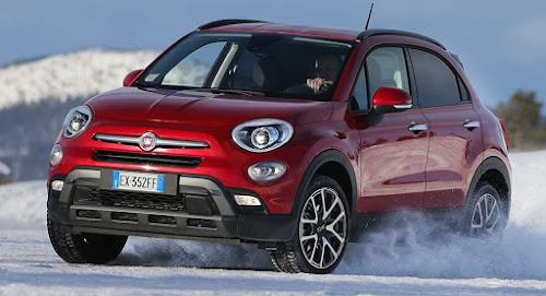 Fiat 500X at FCA Proving Grounds in Sweden