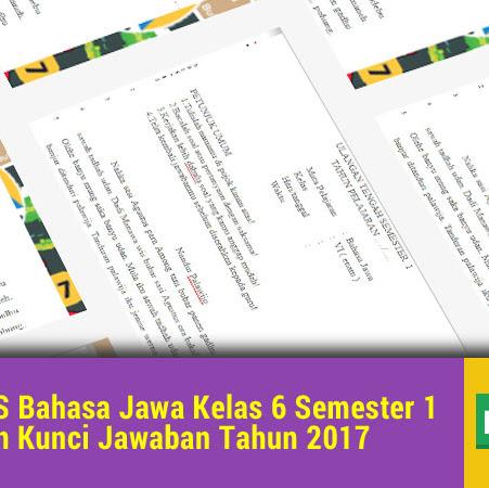 Kunci Jawaban Gladhen Wulangan 1 Kanal Jabar
