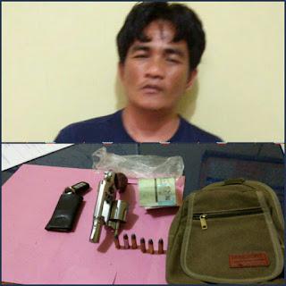 Miliki Narkoba dan Senpi Ilegal Dua Pria Ini Diringkus Kepolisian