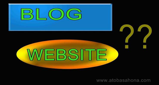 Kesimpulan Tentang Perbedaan Antara Blog dan Website