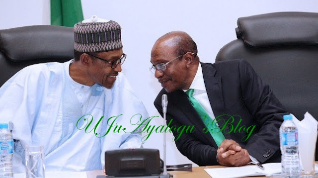 Emefiele 'meets' Buhari at Aso Rock