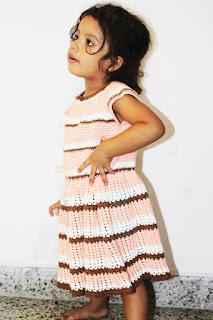 Vestidos En Crochet Para Niña