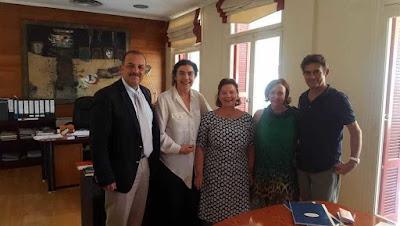 Με την υπουργό Πολιτισμού συναντήθηκε ο δήμαρχος Ρόδου