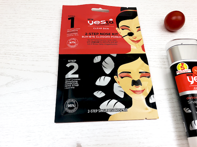 2-step nose pore kit Yes To.