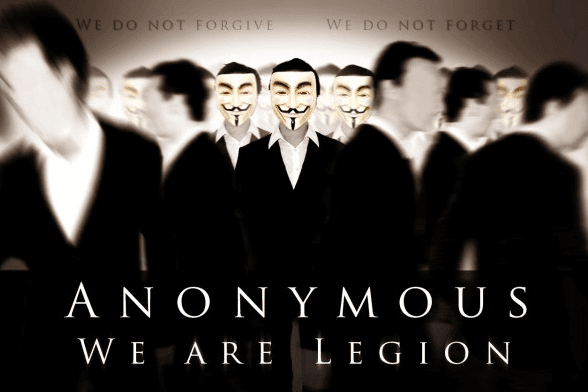 Hacktivist Group Anonymous Hacks Government Website