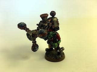 2nd Ed Ork Shokk Attack Gun - front