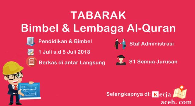 Lowongan Kerja Aceh Terbaru 2018 S1 Semua Jurusan