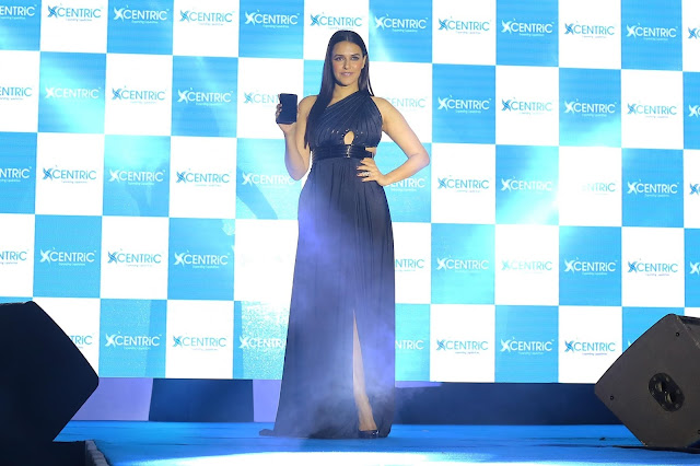 Bollywood Celeb Neha Dhupia launched  CENTRiC Smartphones at an event in Mumbai.