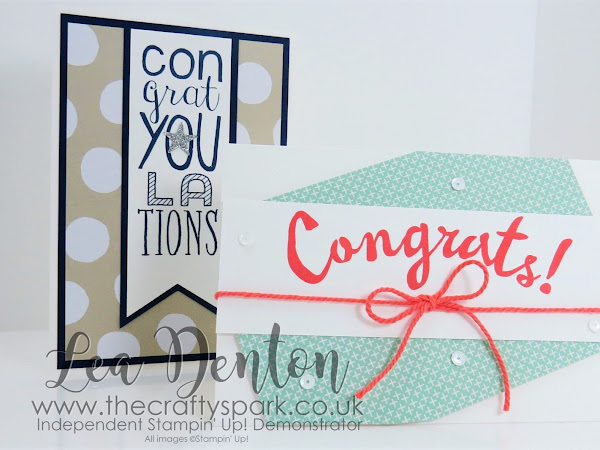 Super Simple Speedy Cards - Congratulations! Bravo! Stampin' Up! UK