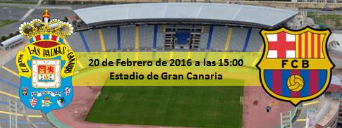 Previa UD Las Palmas - FC Barcelona Estadio de Gran Canaria