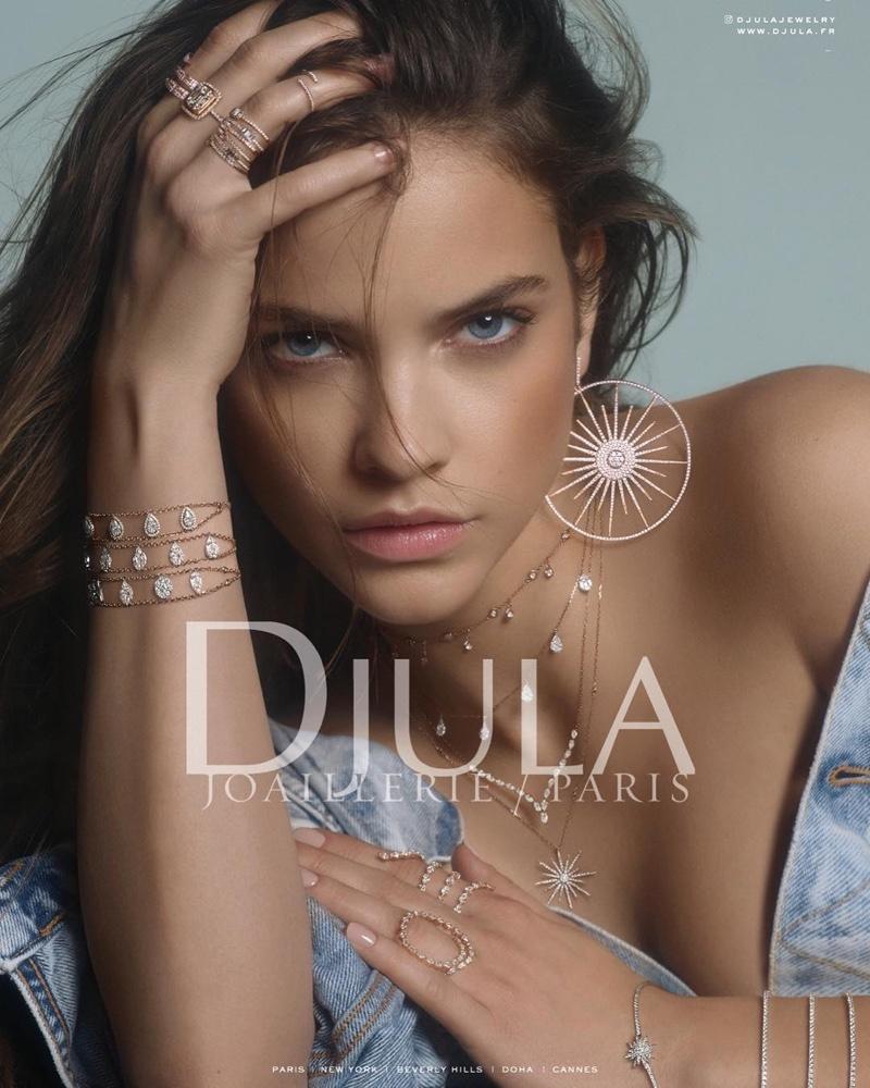 Barbara Palvin for Djula Jewelry
