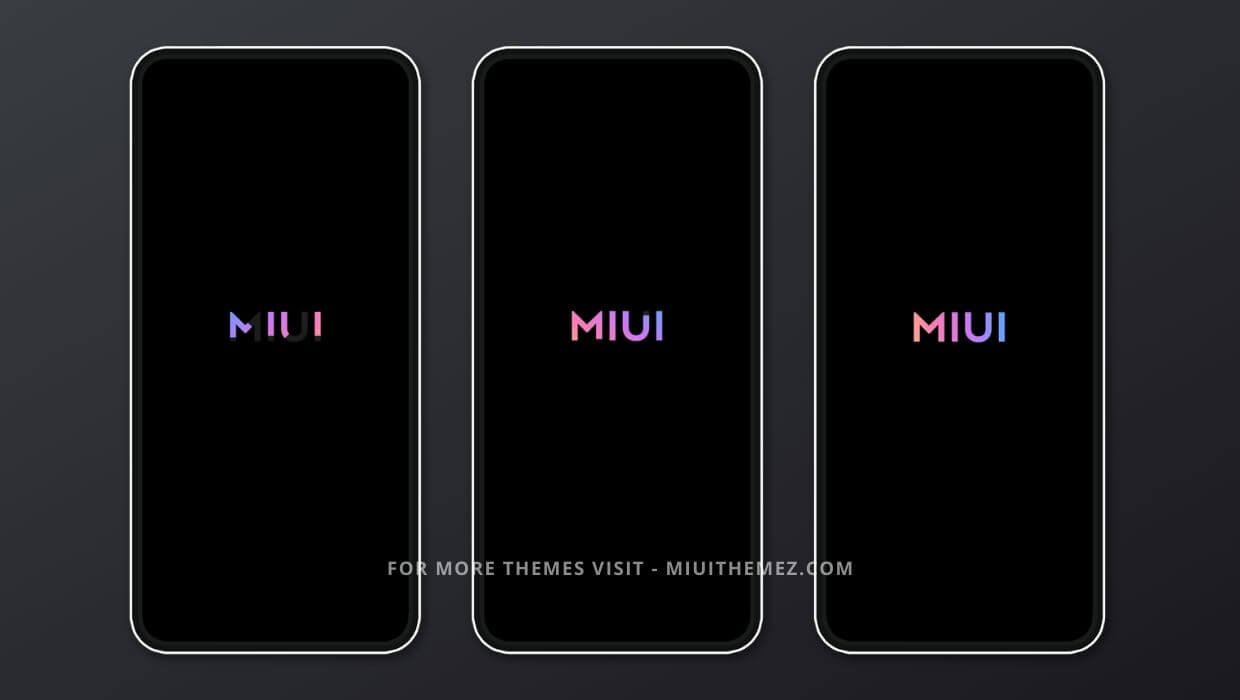 MIUI 12 Bootanimation Theme for Xiaomi Devices