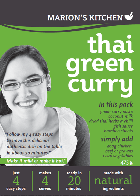 Marion S Kitchen Green Curry Review