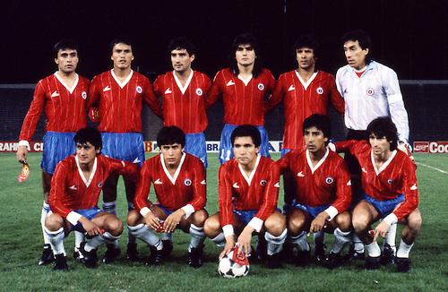 Formación de Chile ante Venezuela, Copa América 1987, 30 de junio
