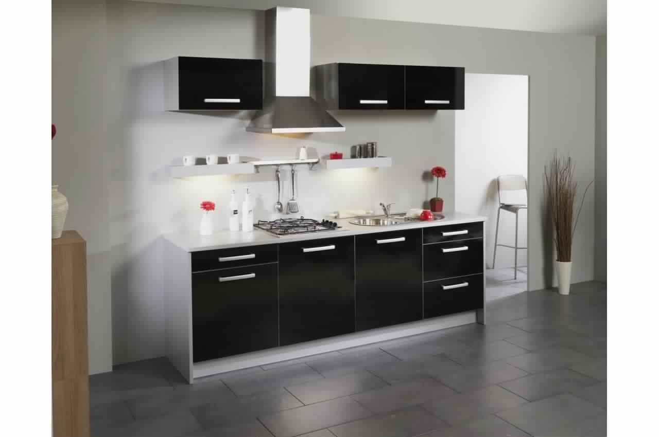 buffet de cuisine moderne pas cher. Black Bedroom Furniture Sets. Home Design Ideas