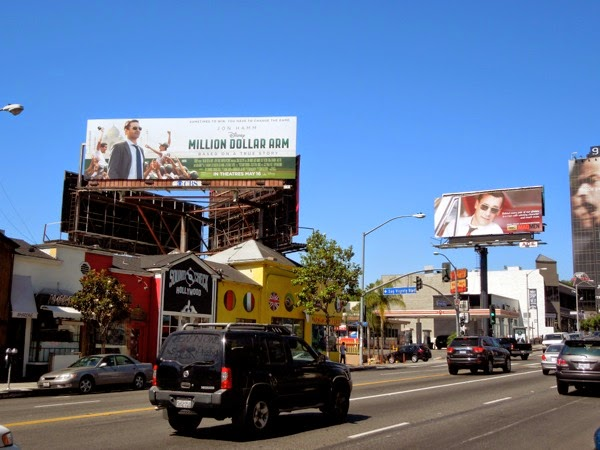 Jon Hamm movie TV billboards Sunset Strip