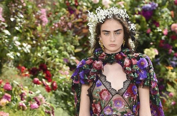 Rodarte Spring 2018 Couture at Paris Fashion Week