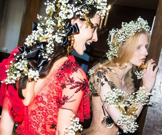 Rodarte Spring is All Tulles, Ruffles, Polkas Dots, and Lots of Baby's Breath and It's Magical!