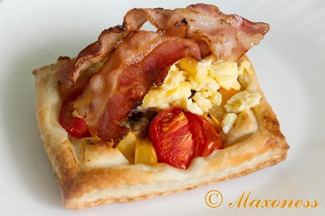 Сытный поздний завтрак