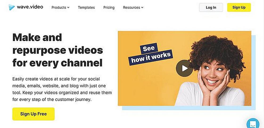 Wave.video 影片製作和託管服務