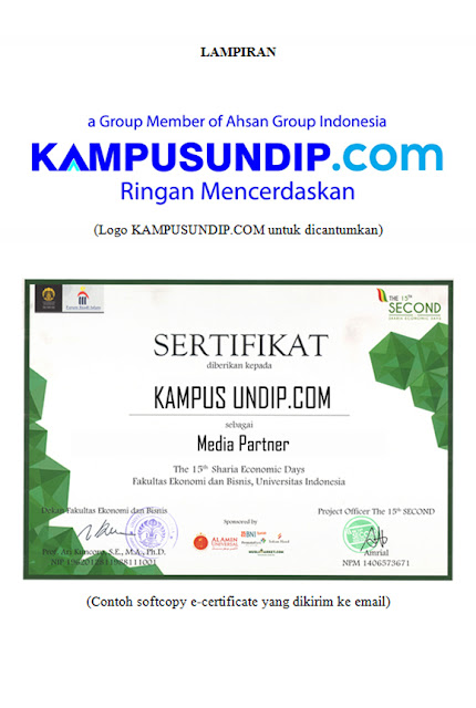 Media Partner KampusUndip.com