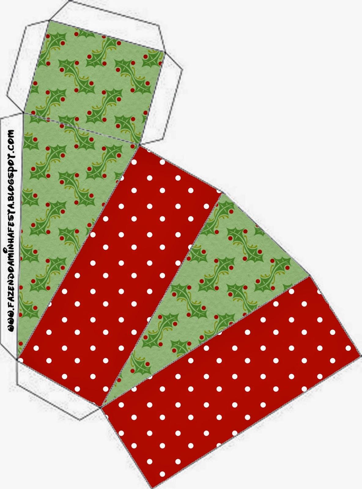 Navidad con Encanto: Cajas para Imprimir Gratis. | Ideas y material ...