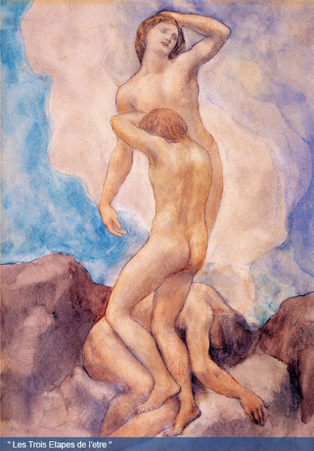 Khalil Gibran Painting