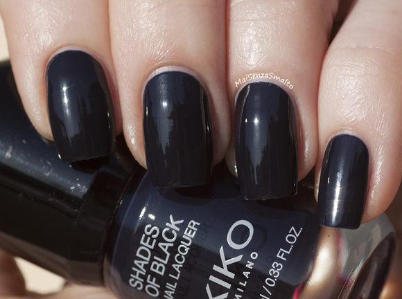 Kiko Shades of Black 04 Blu Notte - Midnight Blue