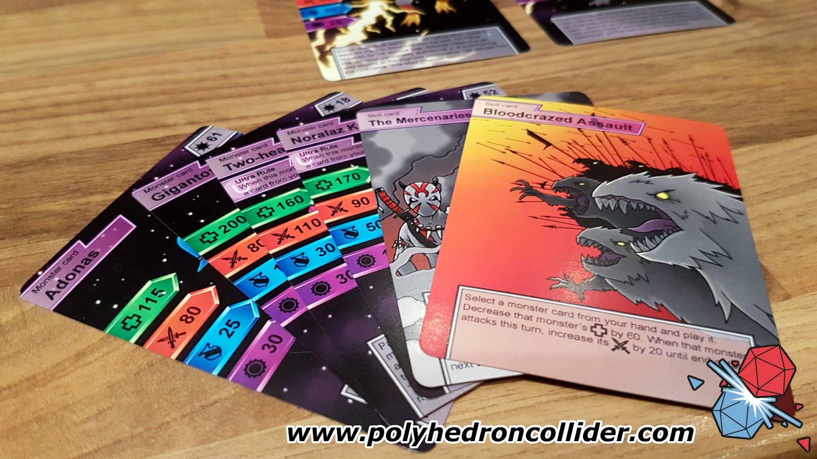 Magmeda Monsters card game review