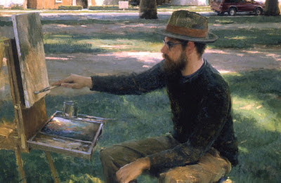 Jeremy Lipking, Self Portrait, Portraits of Painters, Fine arts