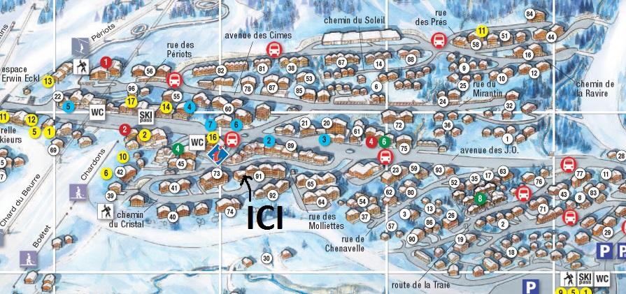 Location grand duplex les saisies centre station - Office de tourisme les saisies ...