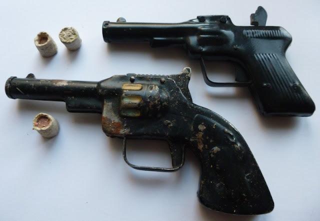 toy cap gun kapiszonowiec zabawka odpustowa
