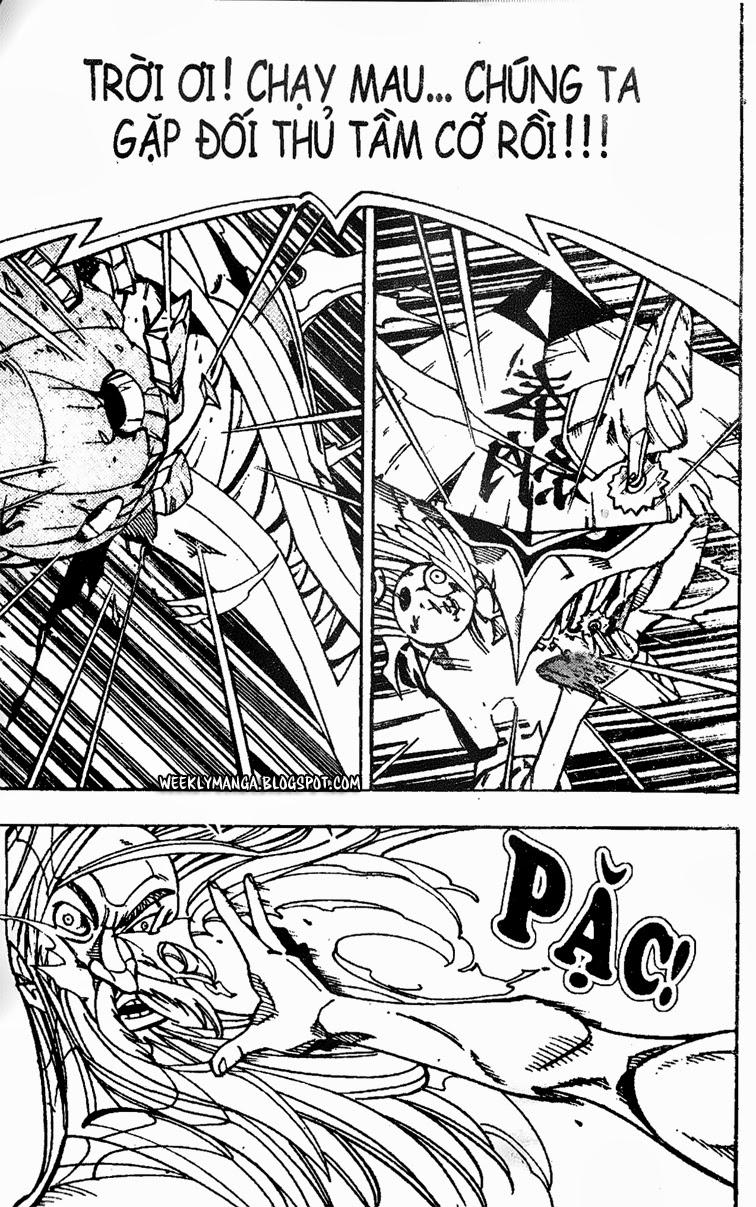 Shaman King [Vua pháp thuật] chap 160 trang 15