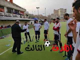 هوكي الشرقية رجال يتصدر بطولة الدوري بعد الفوز علي سموحة.....الهدف الثالث