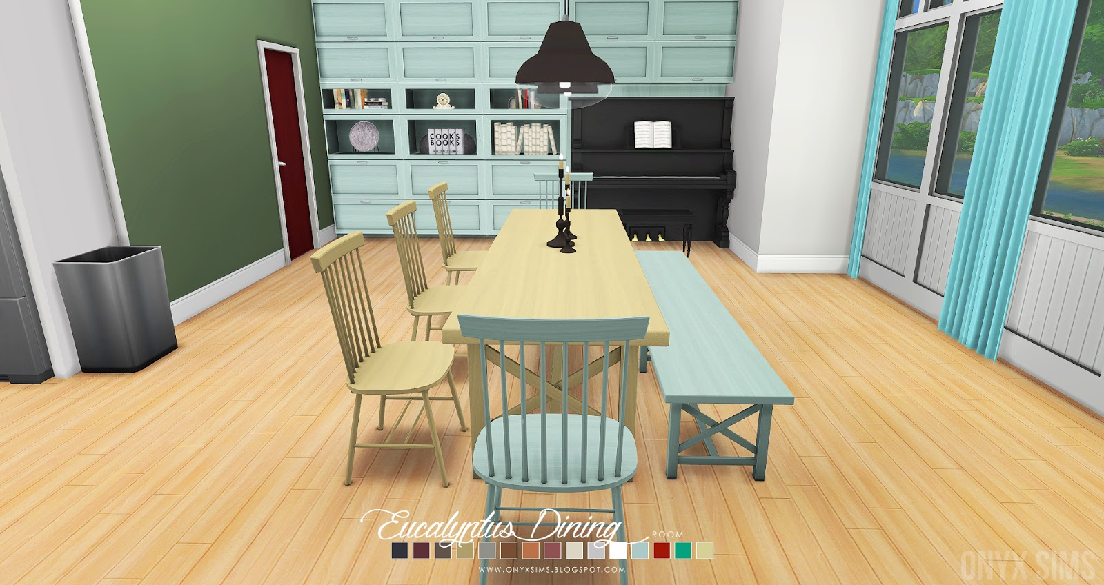 The Eucalyptus Dining Room Comprises Of 17 New Items That Come In An About  15 Color Swatches; Some Items Have Less. This Updated Version Of The Dining  Room ...