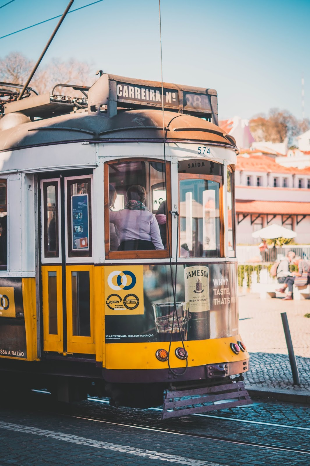 tramway n°28 Lisbonne