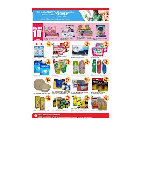 Katalog SUPERINDO Promo SUPERINDO Terbaru Periode 01 - 07 Februari 2018