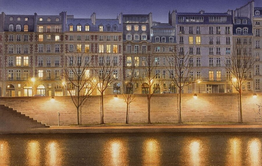 02-Parisian-Nighttime-View-02-Thierry-Duval-www-designstack-co