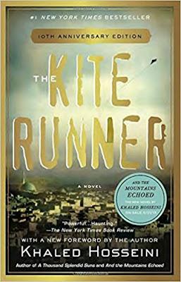 The Kite Runner by Khaled Hosseini (Book cover)
