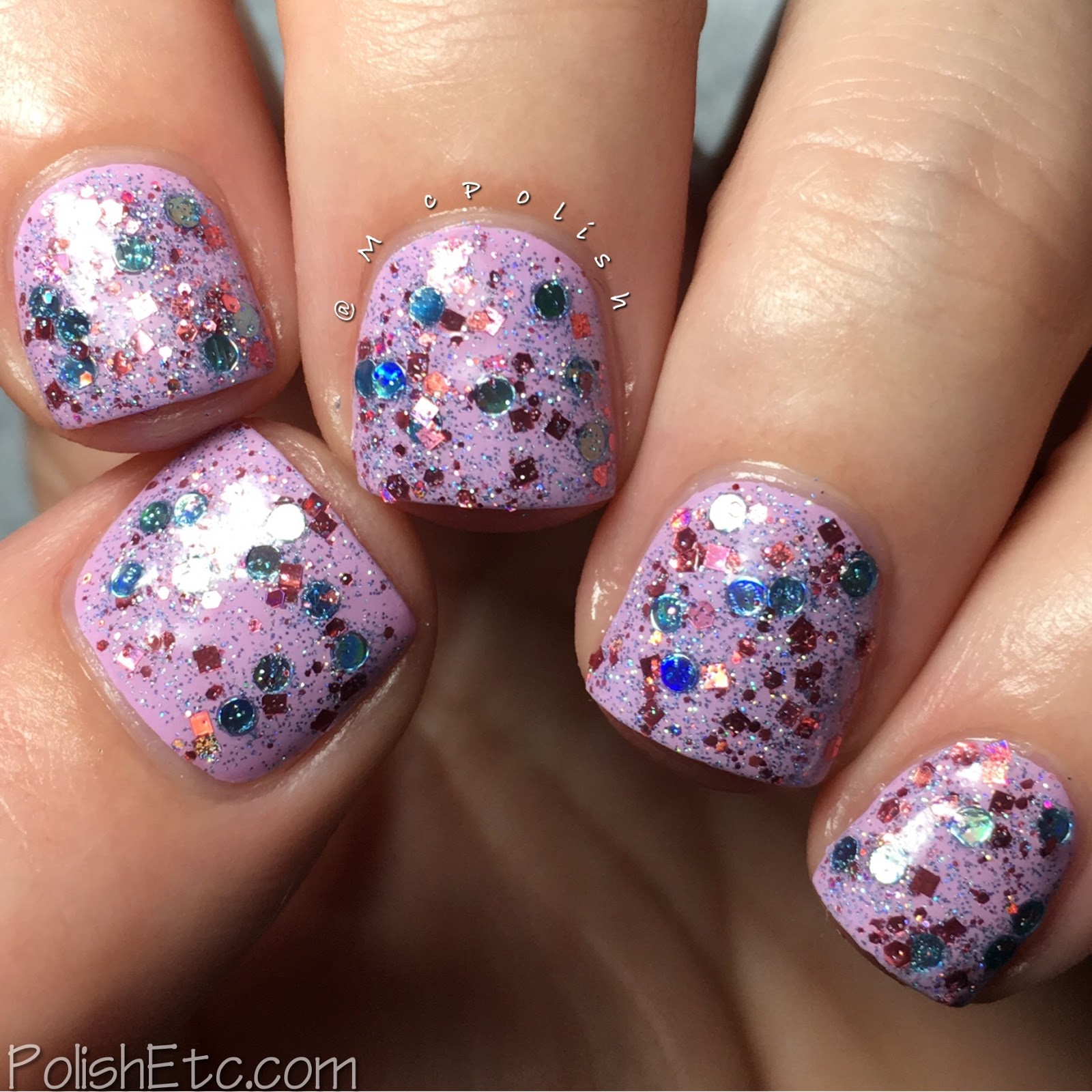Whimsical Ideas by Pam - Whimsical Valentines 2017 - McPolish - Guys and Dolls