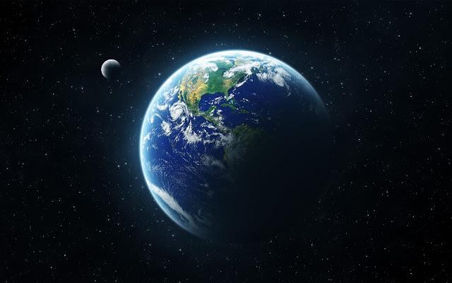 """Fabuloso """"Planeta"""" Terra que nos é mostrado pela NASA"""