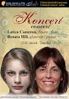 Latica Cameron i Renata Hill, koncert, Bol slike otok Brač Online
