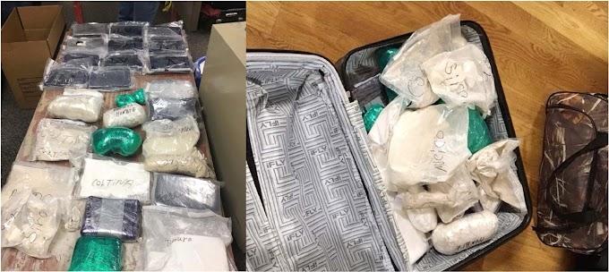 La DEA y el NYPD detienen narcos dominicanos con 55 kilos de heroína valorados en US$7.5MM en un allanamiento en El Bronx