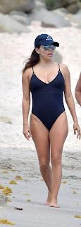 Eva Longoria In Black Swimsuit